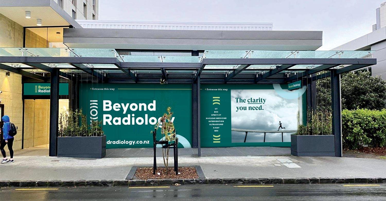 Beyond Radiology signage